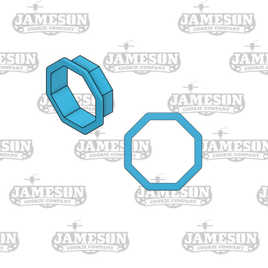Octagon Plaque Cookie Cutter