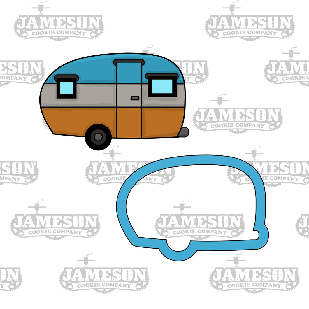 Camper RV Cookie Cutter - Travel Trailer - Camping