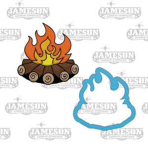 Campfire Cookie Cutter - Camping - Wood Fire