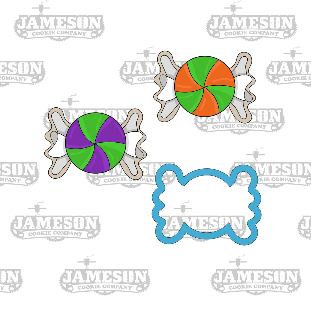 Candy Wrapper Cookie Cutter - Candy Cookie Cutter - Halloween