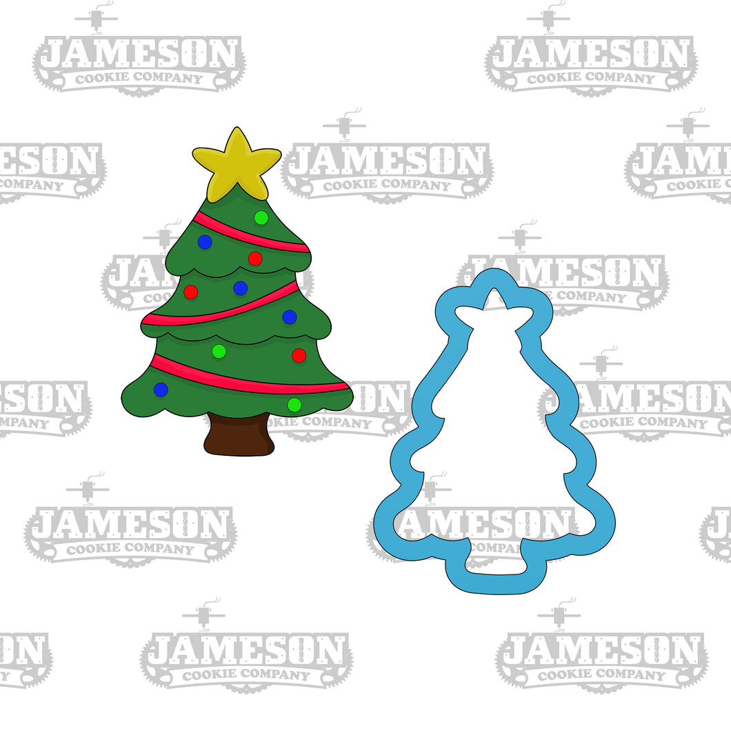 Christmas Tree with Star Cookie Cutter
