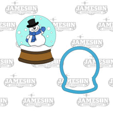 Load image into Gallery viewer, Snow Globe Cookie Cutter - Snowglobe Winterland Snowman
