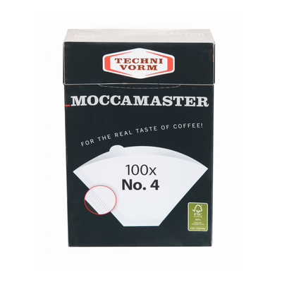 Moccamaster | Coffee Filter white Nr. 4 (100 Filters)