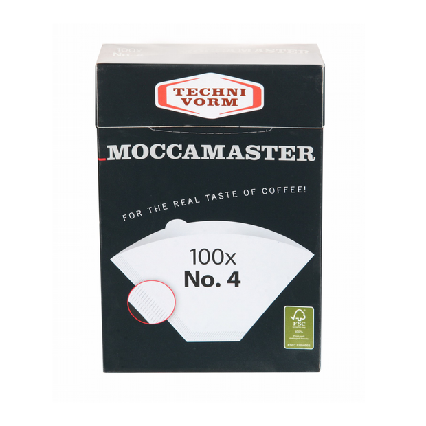 Moccamaster | Coffee Filter white No. 4 (100 Filters)