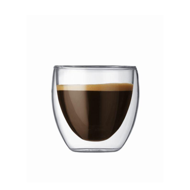 Bodum | Pavina Double Walled Glass - 80ml