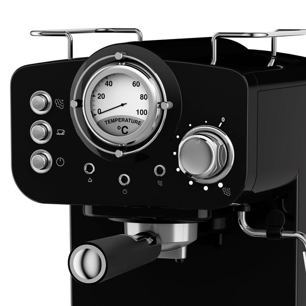 Swan | Retro Pump Espresso Coffee Machine