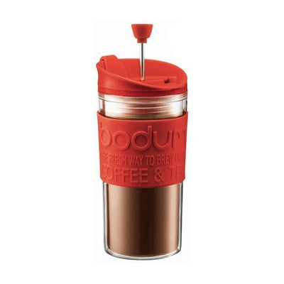 Bodum | Travel Press With Extra Lid - Clear