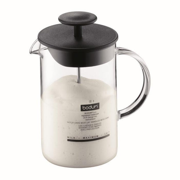 Bodum | Latte Milk Frother with Glass Handle