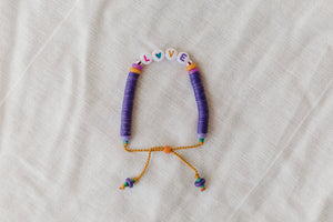 Love Purple Bracelet