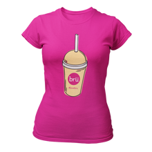 Load image into Gallery viewer, Bru Frap Ladies T-shirt (Pink)