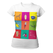 Load image into Gallery viewer, Bru Classic Ladies T-shirt