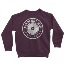 Load image into Gallery viewer, Coolest Kid in Leicester Sweatshirt (Various)