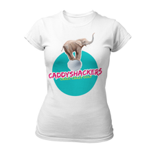 Load image into Gallery viewer, Caddyshackers Ladies T-shirt