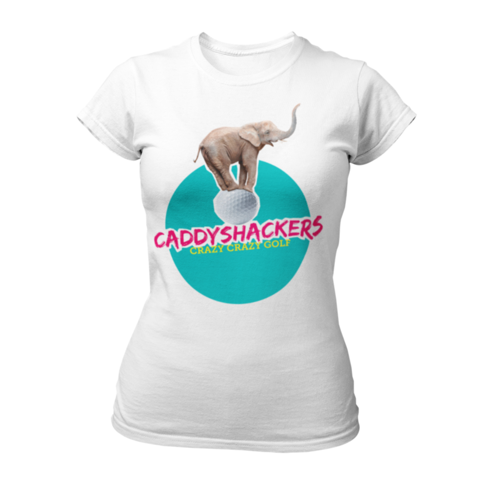Caddyshackers Ladies T-shirt
