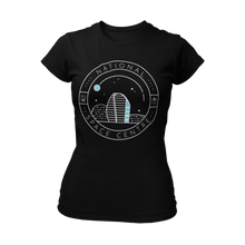 Load image into Gallery viewer, National Space Centre Ladies Black T-shirt