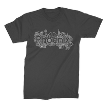 Load image into Gallery viewer, Phoenix Black Classic T-shirt