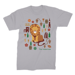 The Two-Tailed Lion Classic T-shirt