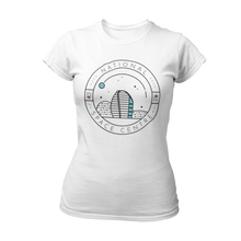 Load image into Gallery viewer, National Space Centre Ladies White T-shirt