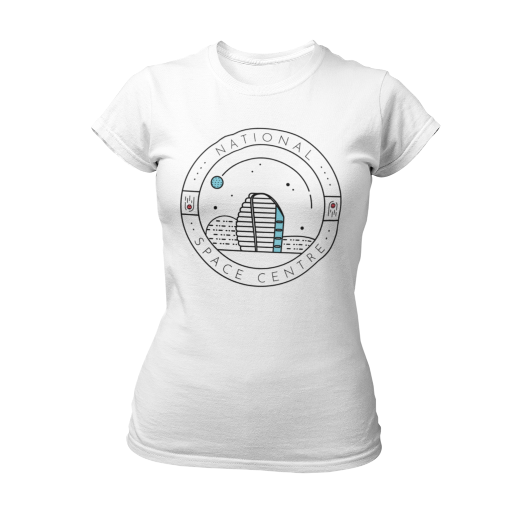 National Space Centre Ladies White T-shirt