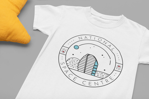 National Space Centre Kids White T-shirt