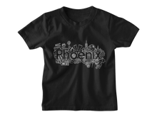 Load image into Gallery viewer, Phoenix Kids Black T-shirt