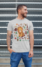 Load image into Gallery viewer, The Two-Tailed Lion Classic T-shirt