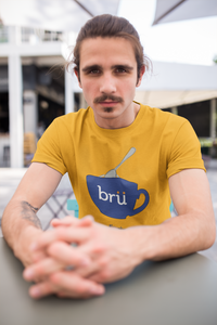 Bru Coffee Cup T-shirt (Yellow)
