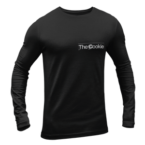 "The Cookie ""Bands off the telly"" Long Sleeved T-shirt"