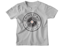 Load image into Gallery viewer, Coolest Kid in Leicester T-shirt (Grey • White)