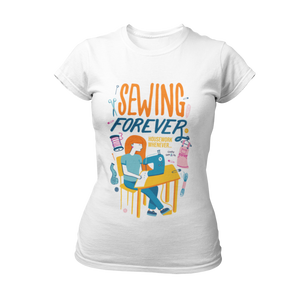 "Crafty Sew & So ""Sewing Forever"" T-shirt"