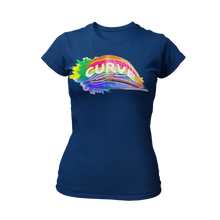 Load image into Gallery viewer, Curve Ladies T-shirt (various)