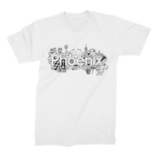 Load image into Gallery viewer, Phoenix White Classic T-shirt