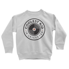 Load image into Gallery viewer, Coolest Kid in Leicester Sweatshirt (Grey • White)
