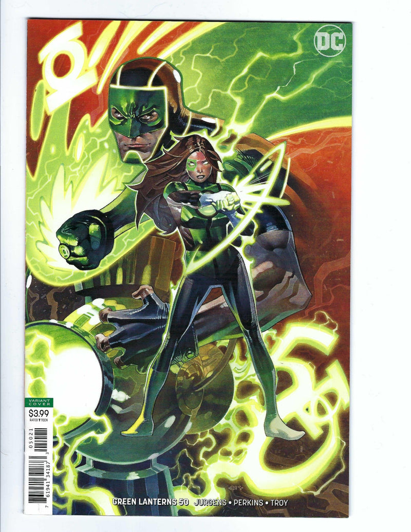 Green Lanterns 50 Variant