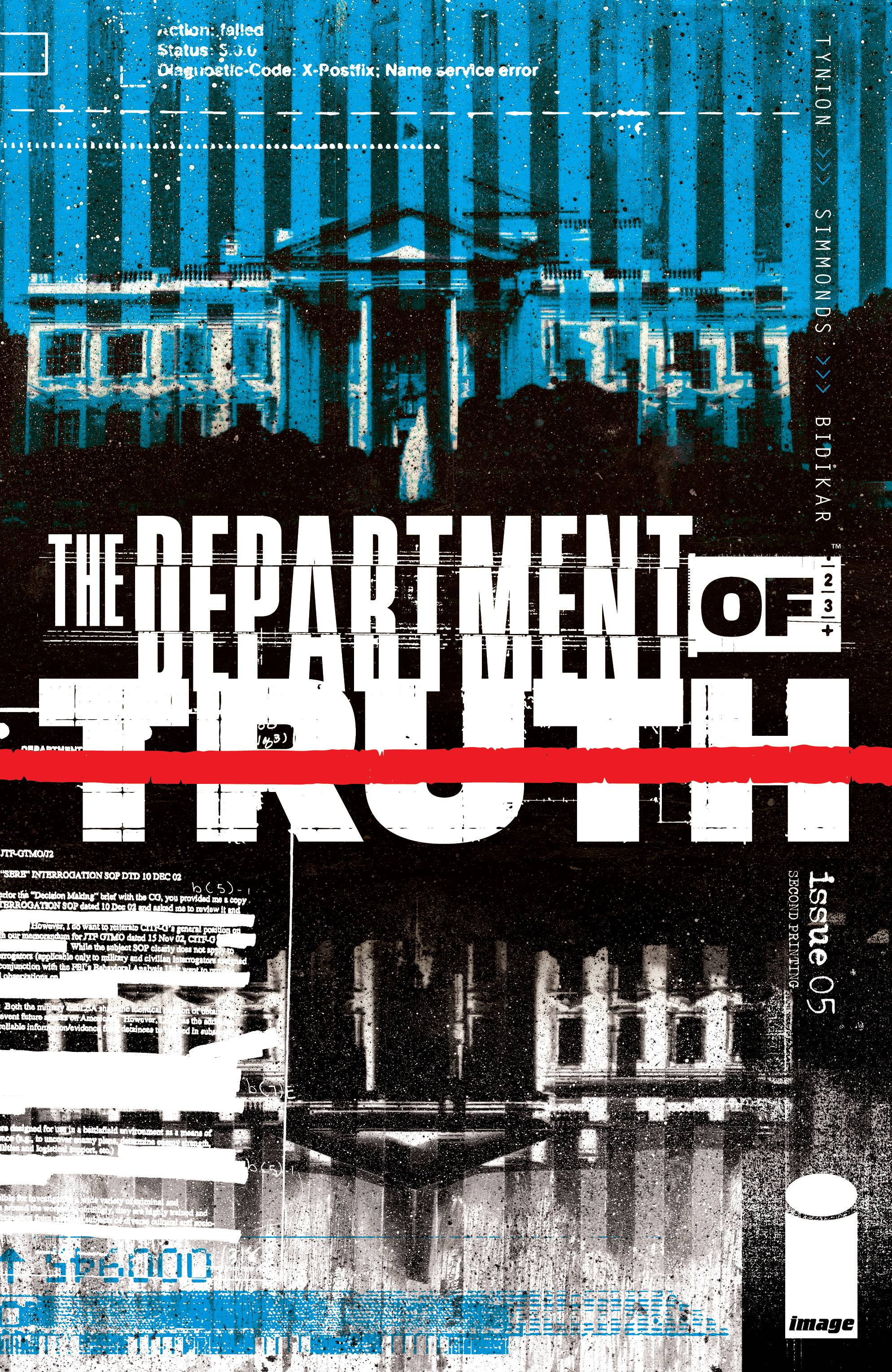 DEPARTMENT OF TRUTH #5 2ND PTG (MR)