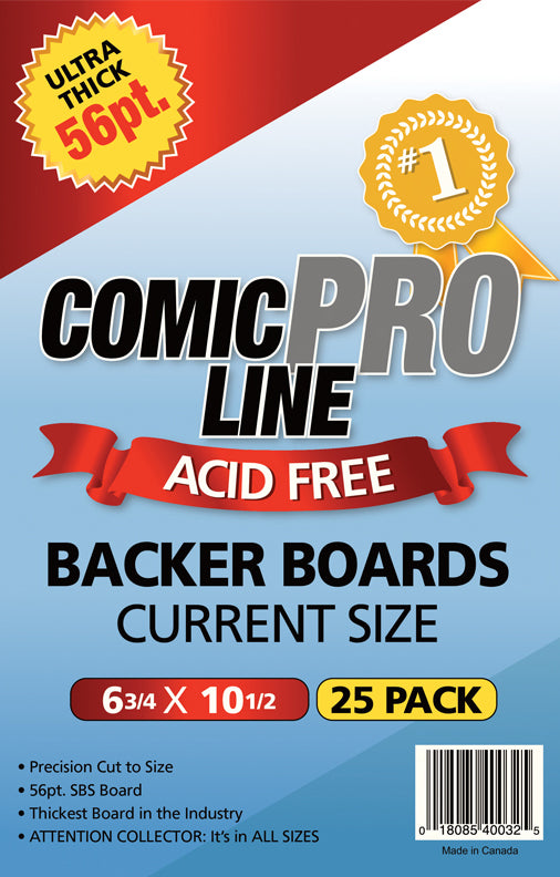 "Comic Pro Line Current 6 3/4"" Board 56pt x50"