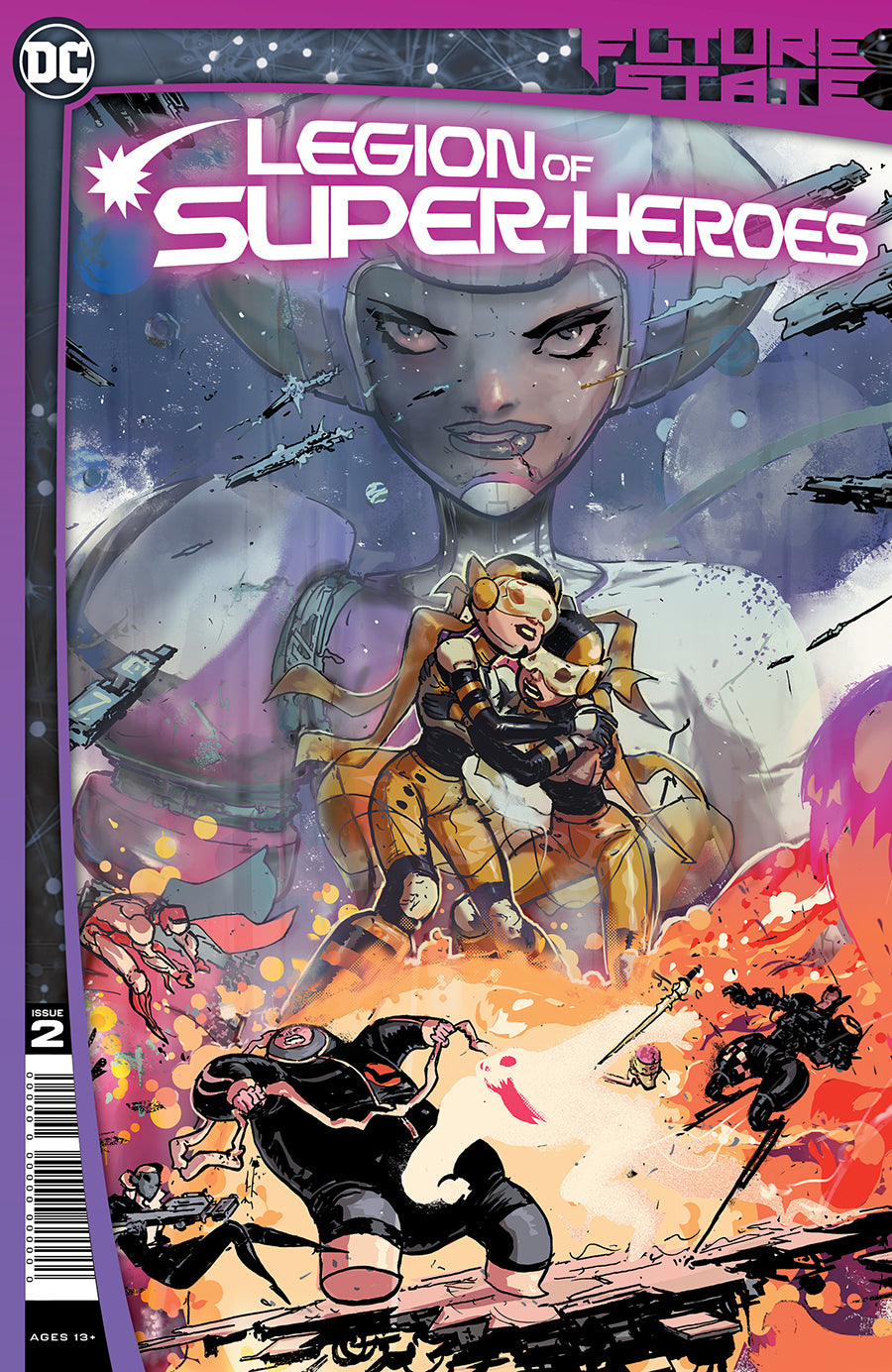 FUTURE STATE LEGION OF SUPER-HEROES #2 (OF 2) CVR A RILEY ROSSMO