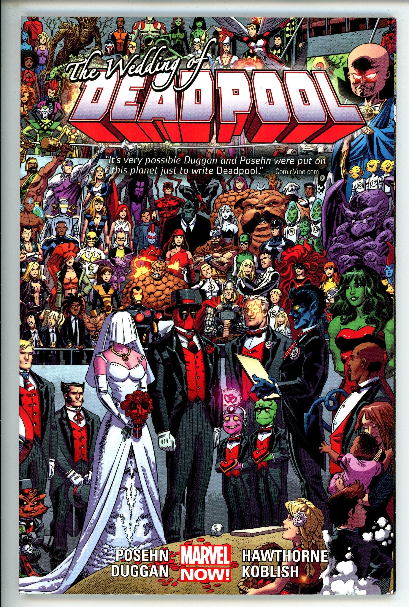 Deadpool Vol 5 the Wedding of Deadpool TP