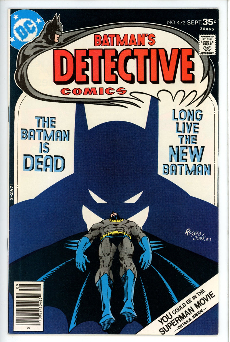 Detective Comics Vol 1 472-DC-CaptCan Comics Inc