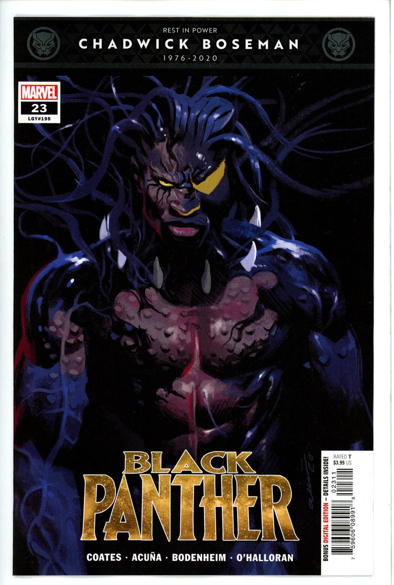 Black Panther Vol 7 23-Marvel-CaptCan Comics Inc