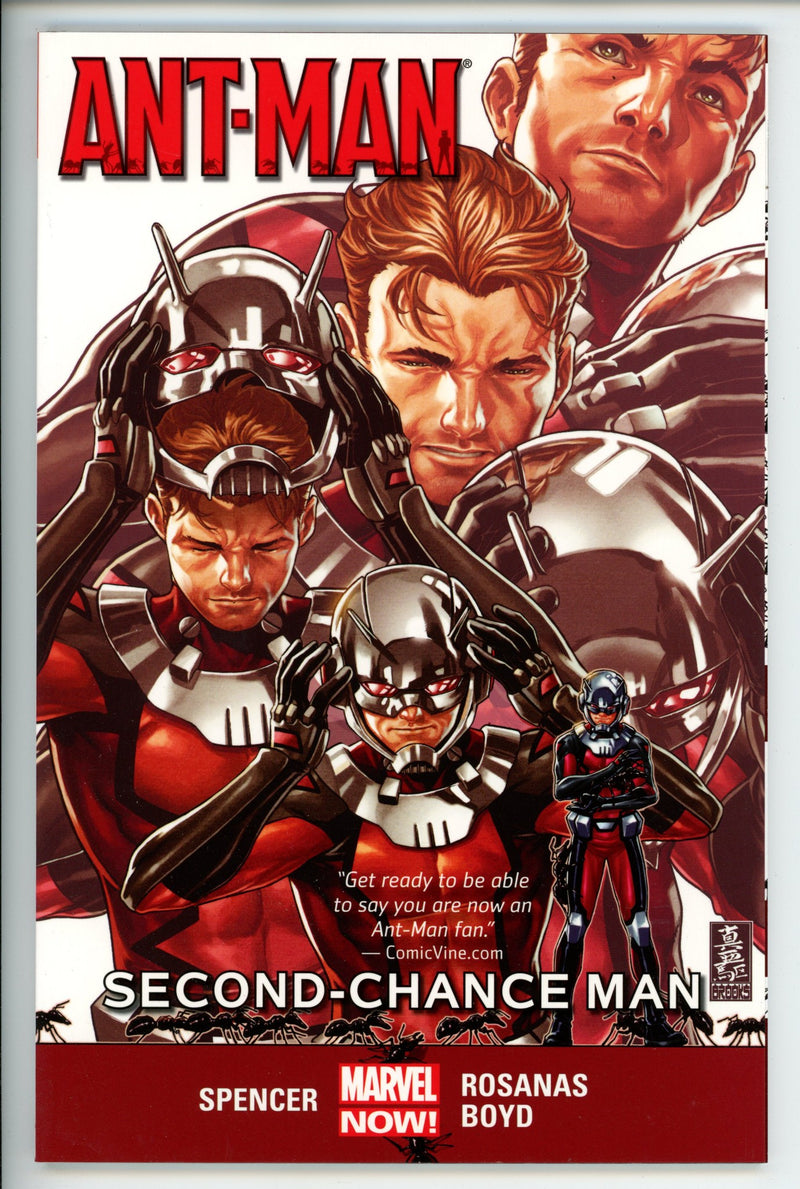 Ant-Man Vol 1 Second Chance Man