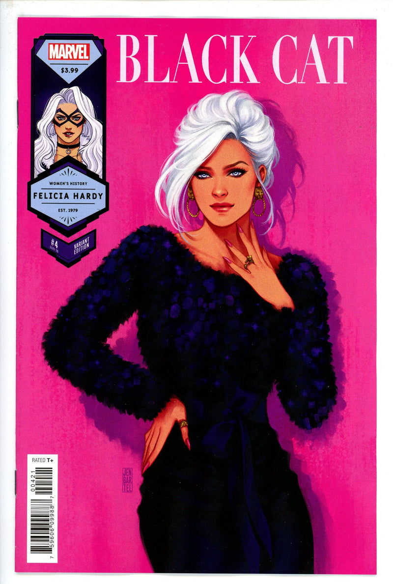 Black Cat Vol 2 4 Bartel Variant-Marvel-CaptCan Comics Inc