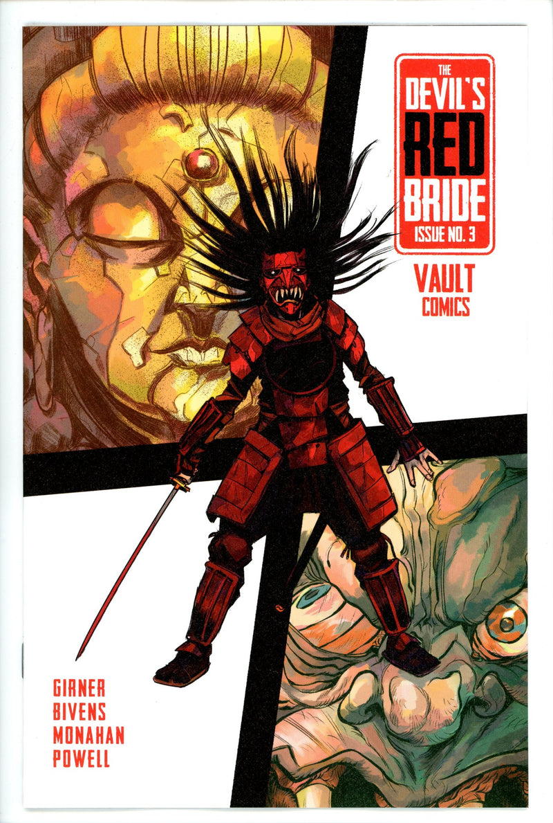 Devils Red Bride 3-Vault-CaptCan Comics Inc