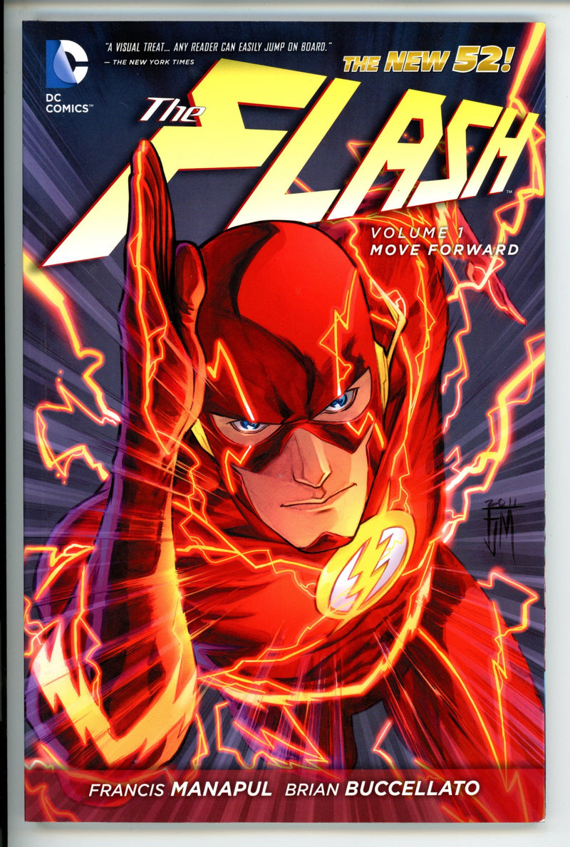 The Flash Move Forward Vol 1 TP