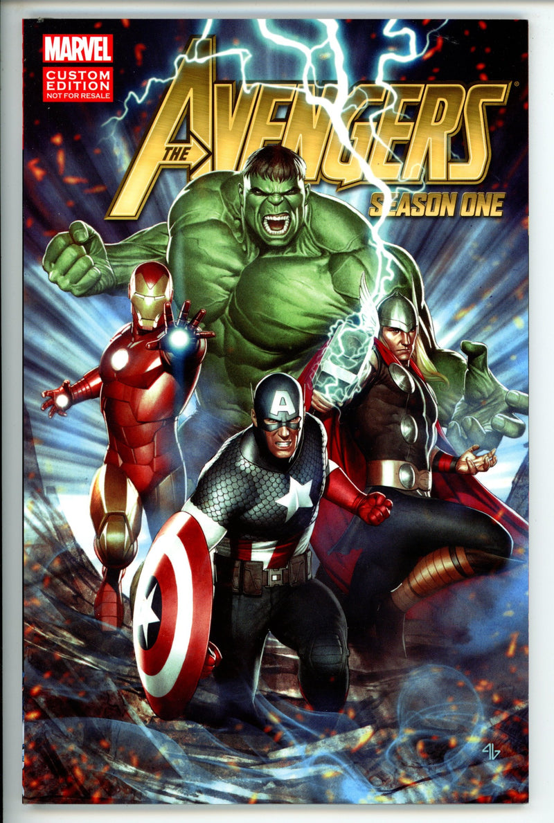The Avengers Season One Vol 1 TP