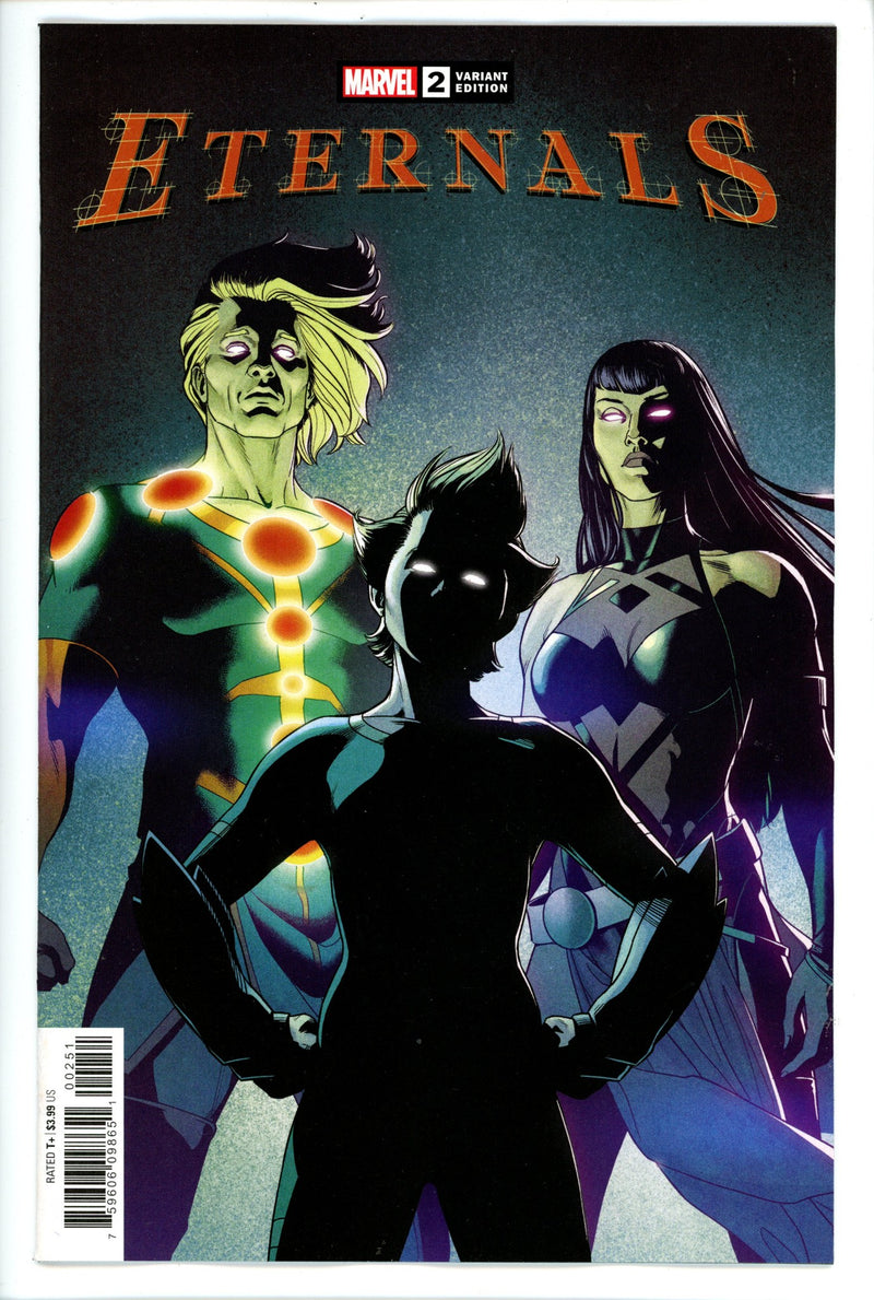 Eternals Vol 5 2 McKelvie Variant-Marvel-CaptCan Comics Inc