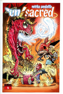 Unsacred Vol 2 5 Variant-Ablaze-CaptCan Comics Inc