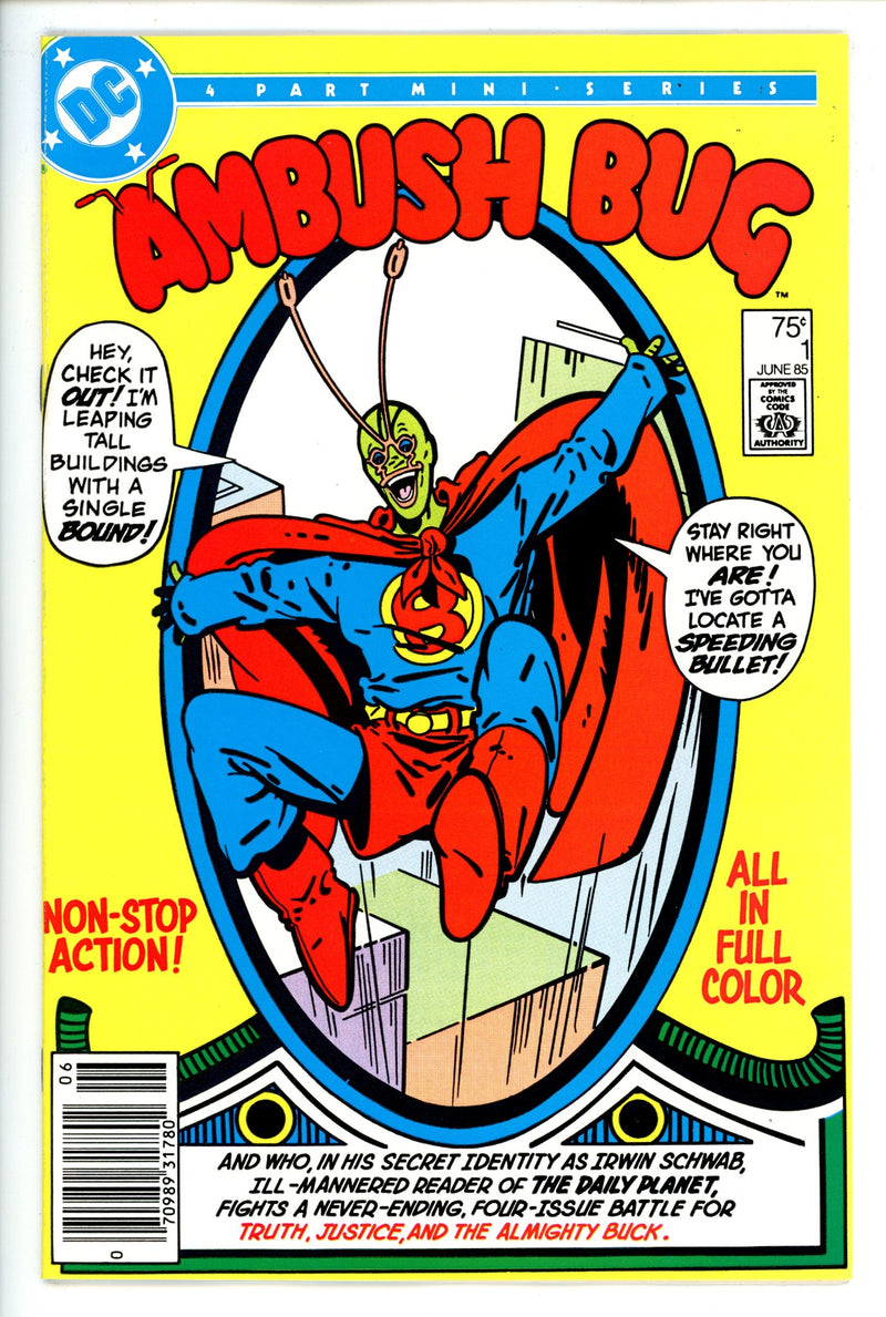 Ambush Bug  1 Newsstand