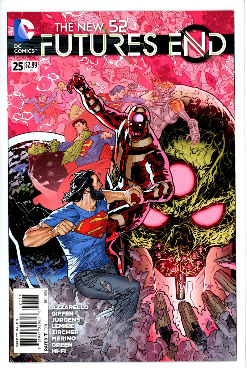 New 52 Futures End 25