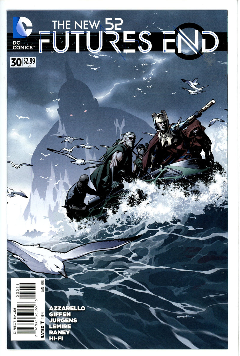 New 52 Futures End 30